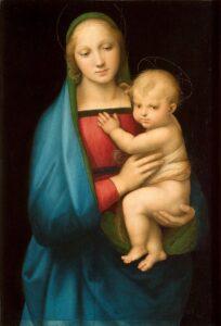 ラファエロの聖母子像