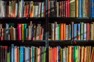 膨大な数の本