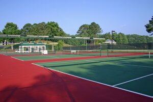 テニスコートの誓い